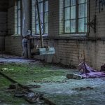A posing overall in the Beelitz laundry