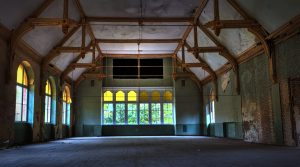 Large event room in the Beelitz central baths