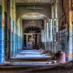 Hallway inside the Beelitz surgery building