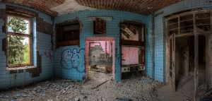 Possibly one of the operating rooms of the Beelitz surgery