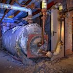 Oiltank in the basement of Beelitz surgery