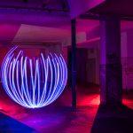 Partial light orb