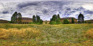 Main schoolyard (painterly style)