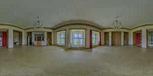 Elite boarding school - main building, first floor, center room