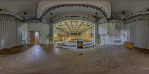 Elite boarding school - main building,auditorium stage