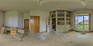Elite boarding school - main building - projector operator room