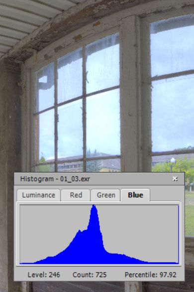 32-bit histogram