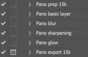 PS pano actions